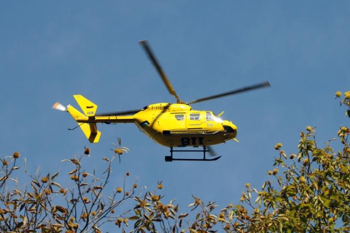 ambulanza elicottero