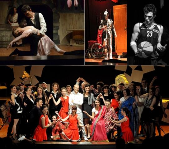 compagnia teatrale i fuori corso collage
