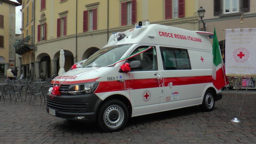 nuova ambulanza cri iseo