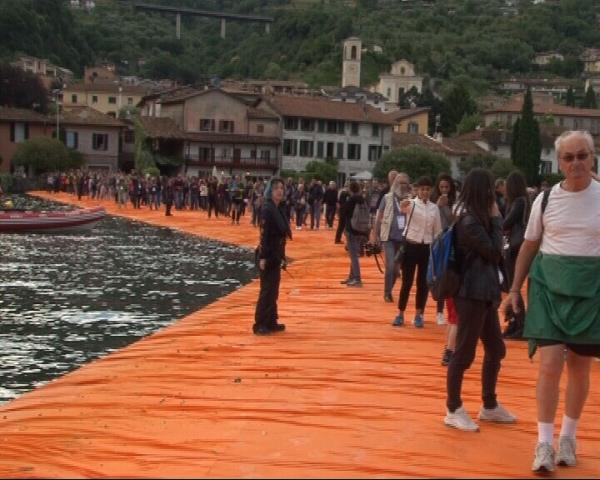 Inaugurazione Floating Piers
