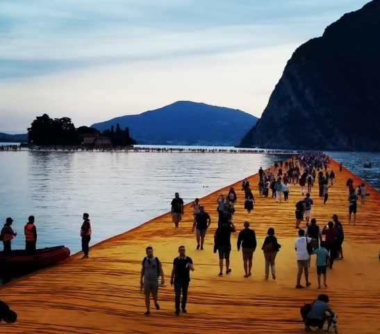 the floating piers sera