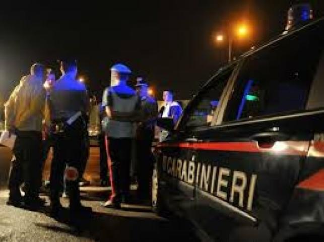 Carabinieri blocco