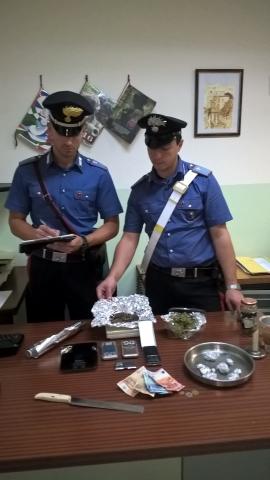 Carabinieri con droga
