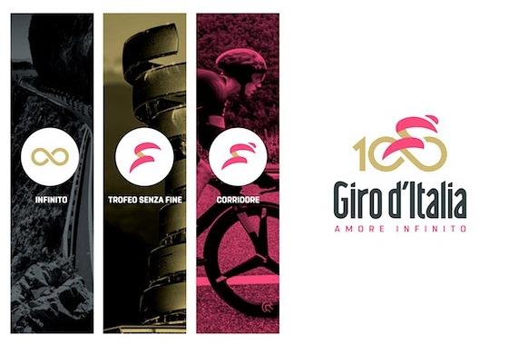 5542 logo giro d italia 100