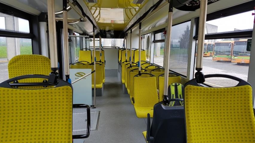 ATB Nuovi mezzi elettrici interno lato passeggeri