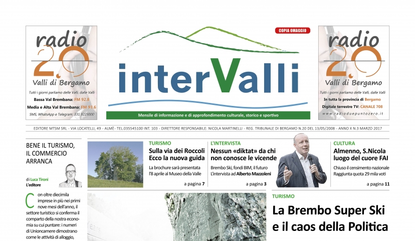 INTERVALLI MARZO 2017 DEFINITIVO