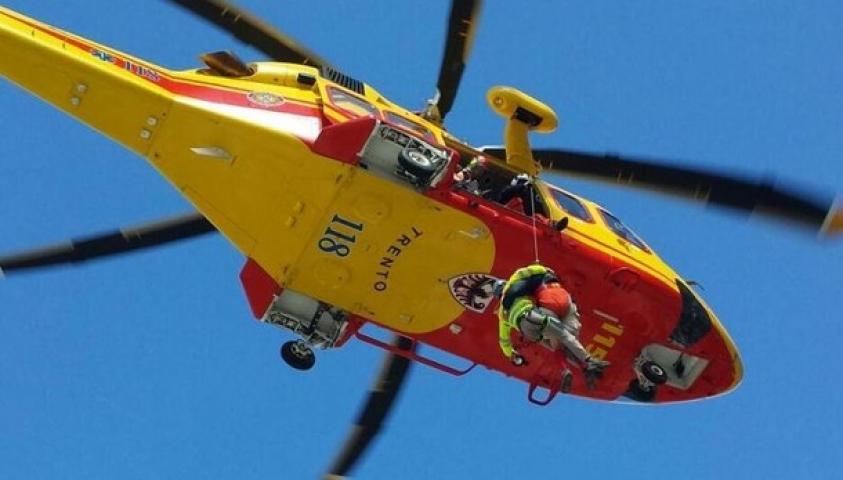 elicottero Trento