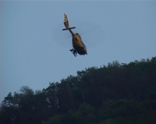 Elicottero 118 bosco