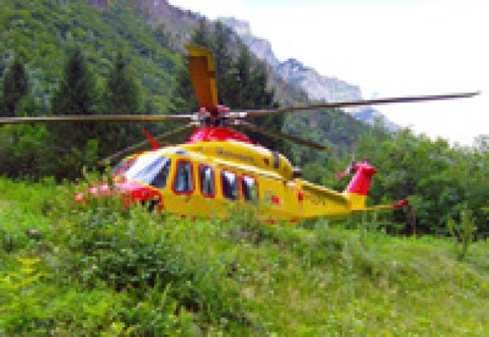 Elicottero 118 Sondrio