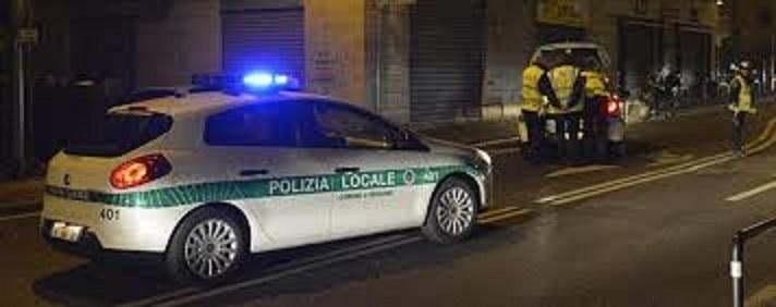 Polizia locale notte
