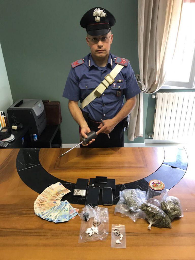 arresto vobarno droga