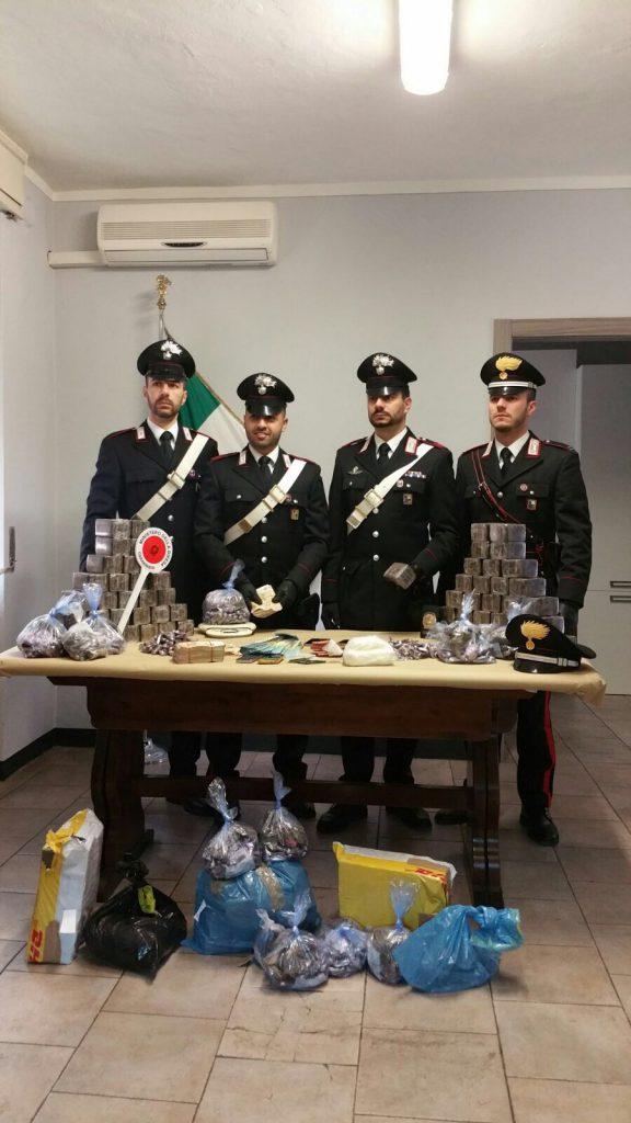 Carabinieri Orzinuovi droga