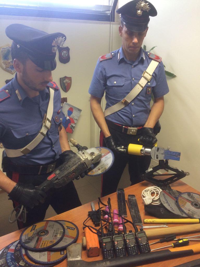 Carabinieri scasso