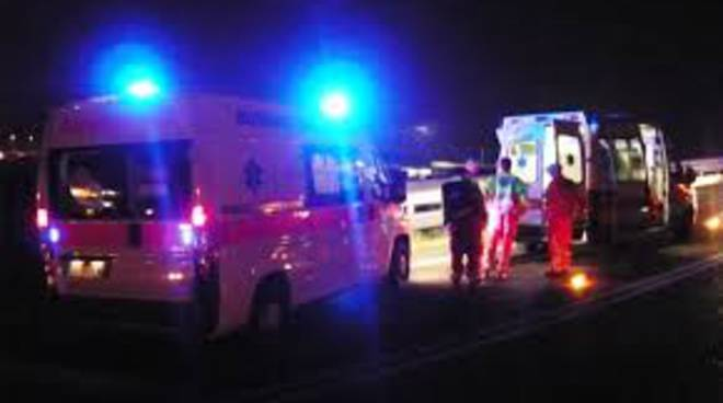 Incidente auytostrada notte
