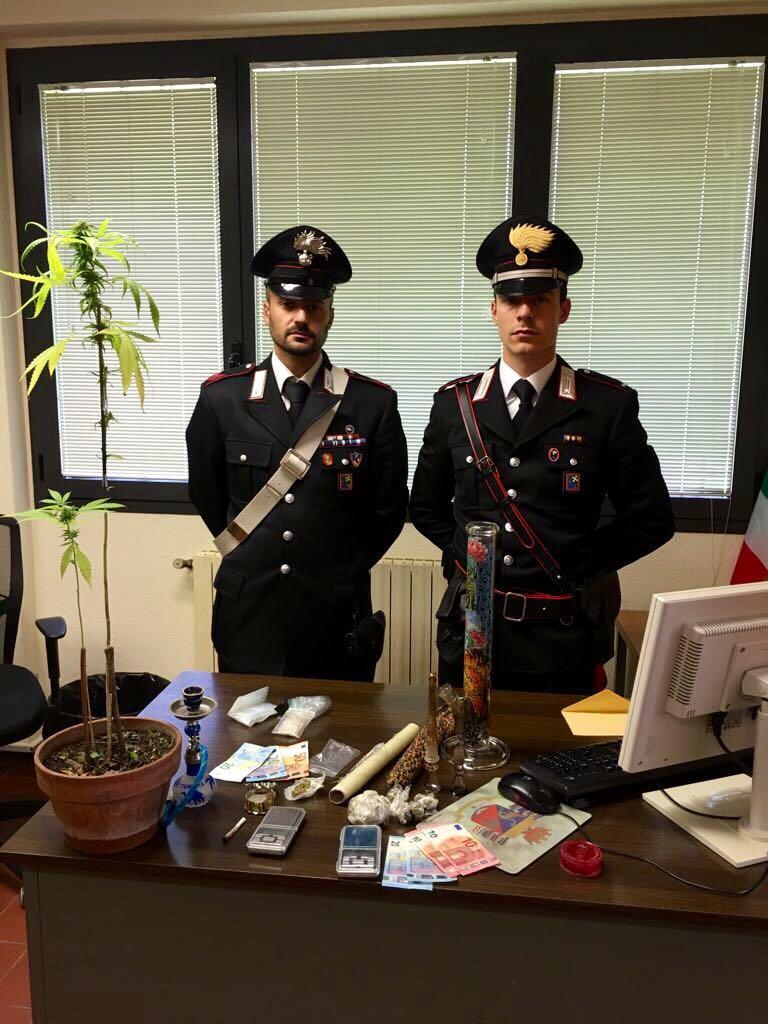 Carabinieri Edolo droga