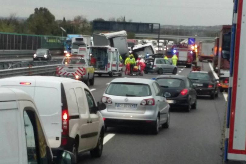 Incidente A4 Desenzano