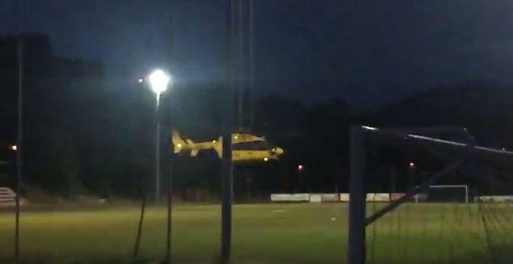 elicottero 118 notte