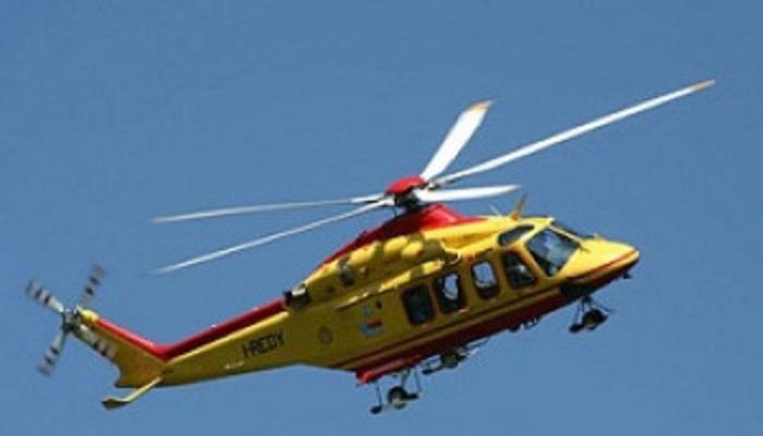 elicottero Sondrio volo