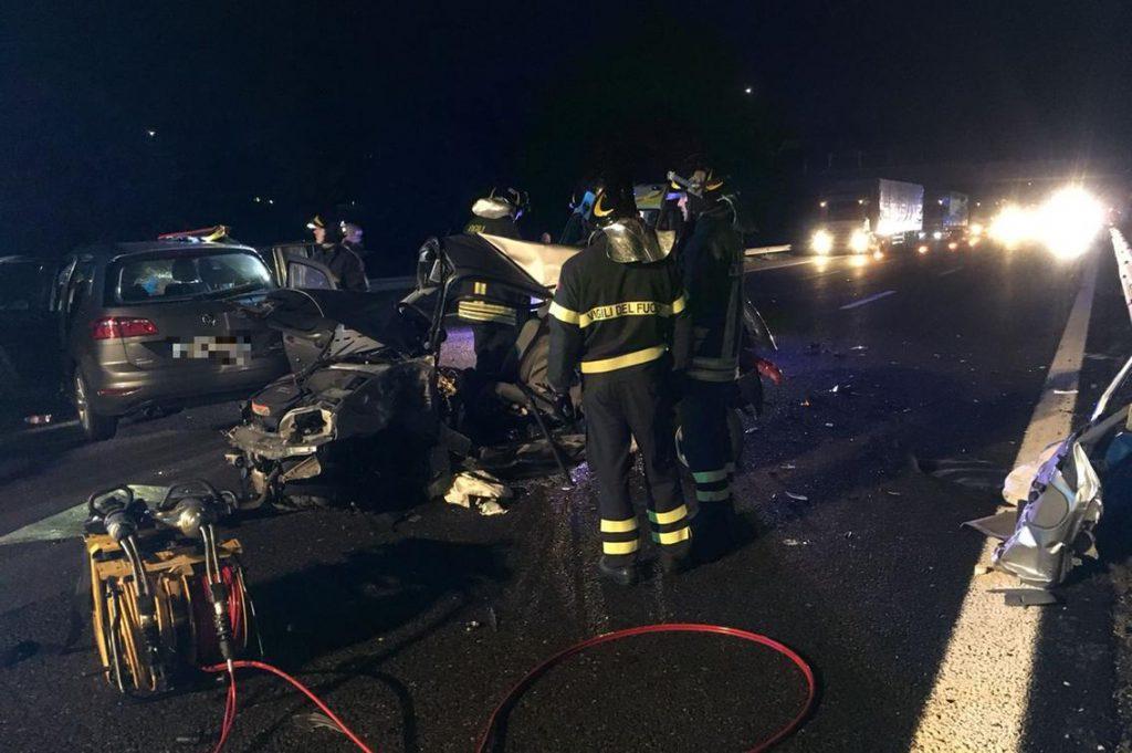 incidente mortale a4 Brescia