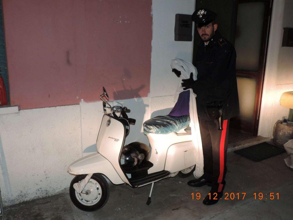 Carabinieri Lambretta