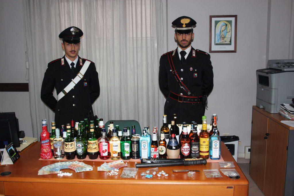Carabinieri alcol