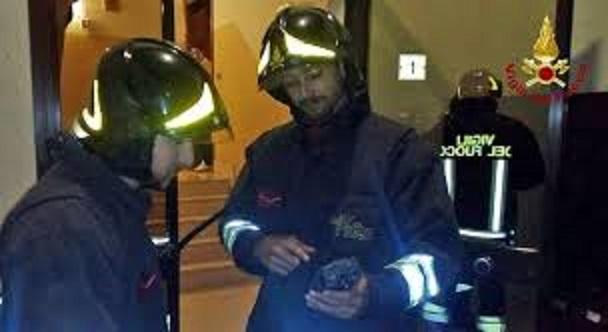 Vigili del fuoco monossido