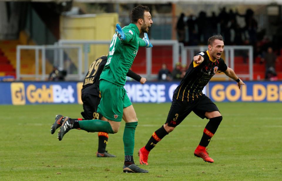 alberto brignoli goal milan