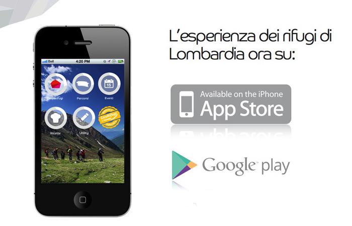 app rifugi lombardia