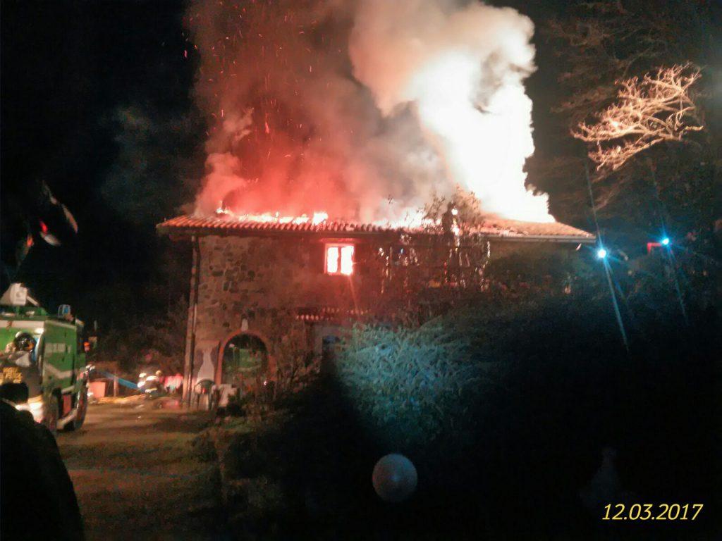 incendio cornale pradalunga