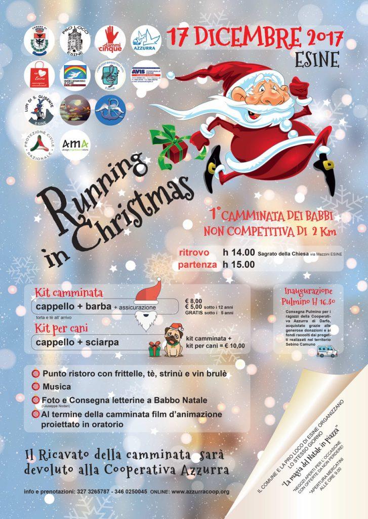 locandina definitiva running christmas 17 dicembre 2017