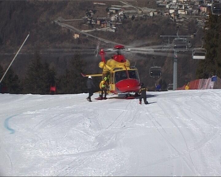 Elicottero neve Temù