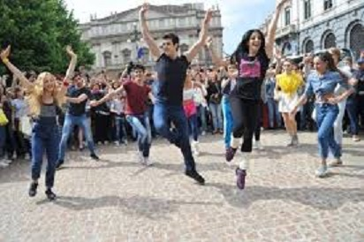 Flash mob Bolle