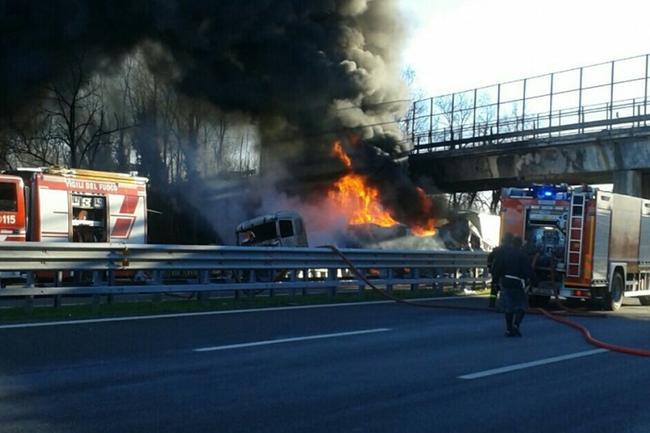 Incendio A21 Montirone