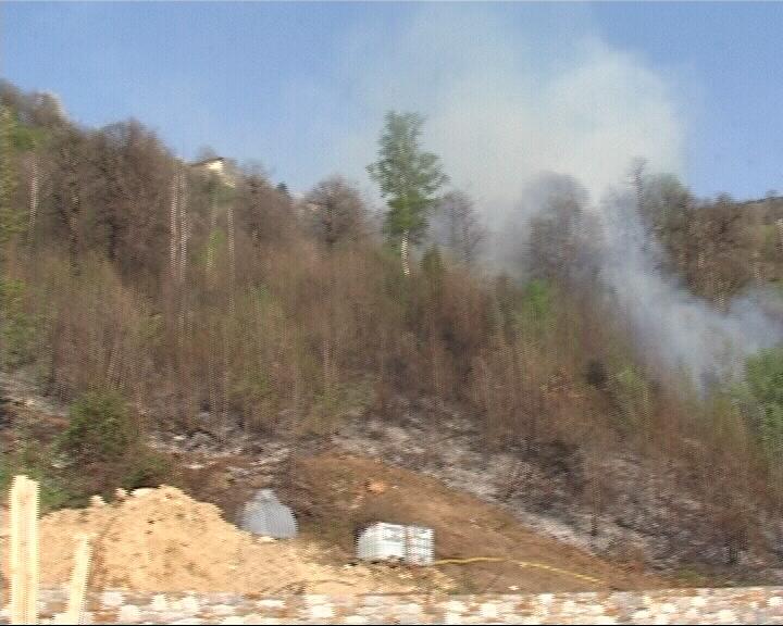 Incendio boschi solato