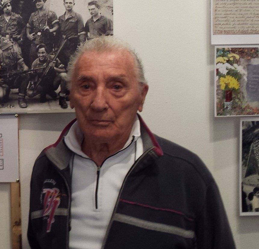 Mario Aresi partigiano