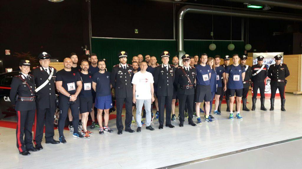 Carabinieri run for help