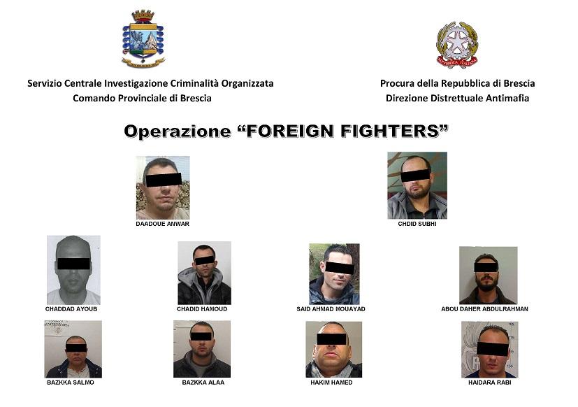 operazione foreign fighters