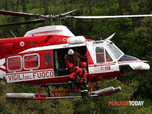 elicottero VVFuoco Trento