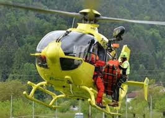 elicottero soccorso bosco