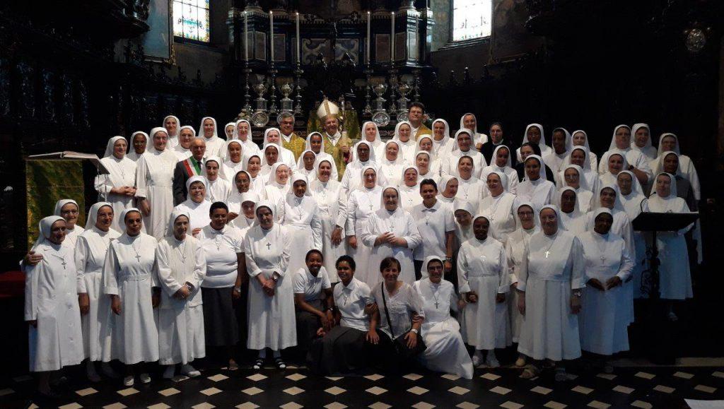Orsoline chiusura capitolo 2018 vescovo Beschi 11