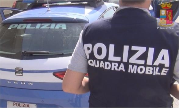 squadra mobile arresti
