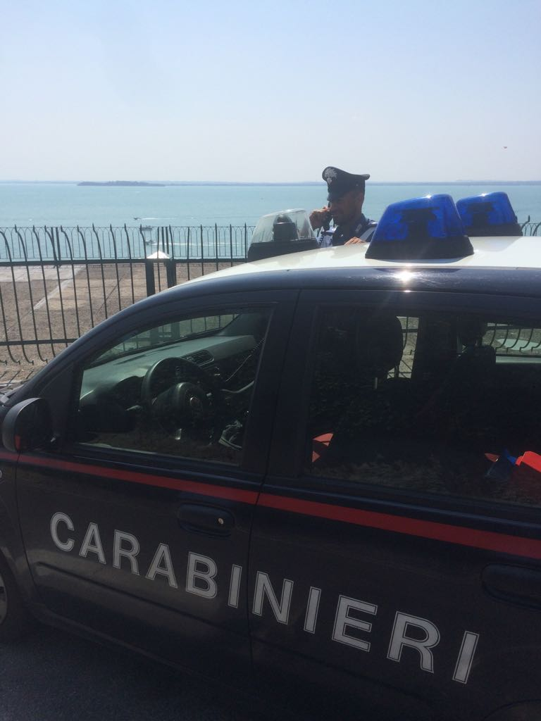 Carabinieri Garda vacanze
