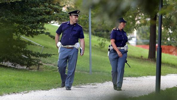 controlli nei parchi polizia