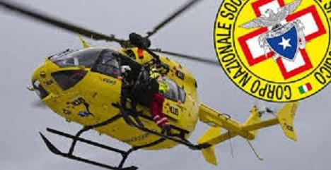 elicottero 118 verricello