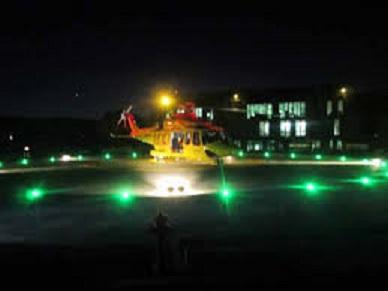 elicottero notte