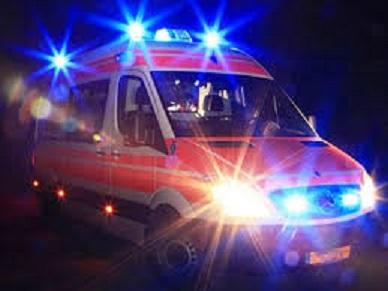 mortale notte ambulanza