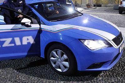 polizia di stato volante sera