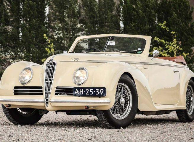 Alfa sport cabrio storica