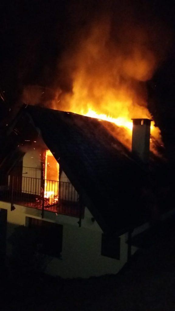 incendio abitazione bondo colzate