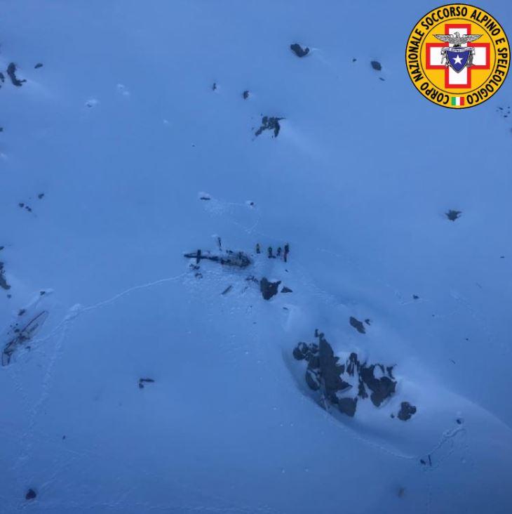 scontro elicotteri vald